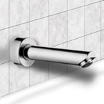 Round Wall-Mounted Tub Spout
