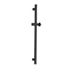 Squared 28 Inch Sliding Rail Available in Matte Black