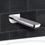 Tub Spout, Remer 91I, Chrome Wall Mounted Tub Spout