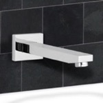 Tub Spout, Remer 91Q, Chrome Wall Mount Bathtub Spout