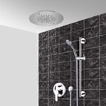 Shower Faucet, Remer CS116, Chrome Shower System With 16