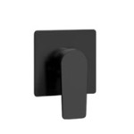 Matte Black Wall Mounted Shower Mixer
