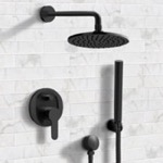 Shower Faucet, Remer SFH30, Matte Black Shower System with 8