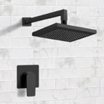 Shower Faucet, Remer SS41, Matte Black Shower Faucet Set with 8