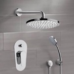 Shower Faucet, Remer SFH13, Chrome Shower System with 8