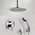 Shower Faucet, Remer SFH6000, Chrome Shower System with 9