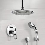 Shower Faucet, Remer SFH6001, Chrome Shower System with 9