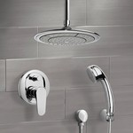 Shower Faucet, Remer SFH6003, Chrome Shower System with 9