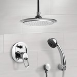 Shower Faucet, Remer SFH6010, Chrome Shower System with 9