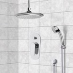 Shower Faucet, Remer SFH6011, Chrome Shower System with 9