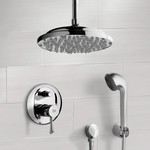 Shower Faucet, Remer SFH6023, Chrome Shower System with 9