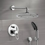 Shower Faucet, Remer SFH6039, Chrome Shower System with 9