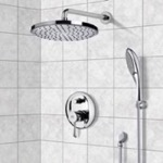 Shower Faucet, Remer SFH6083, Chrome Shower System with 8