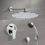 Shower Faucet, Remer SFH6091, Chrome Shower System with 14