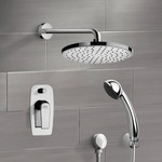 Shower Faucet, Remer SFH6146, Chrome Shower System with 8