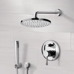 Shower Faucet, Remer SFH6151, Chrome Shower System with 8
