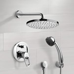 Shower Faucet, Remer SFH6165, Chrome Shower System with 8