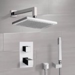 Shower Faucet, Remer SFH6402, Chrome Thermostatic Shower System with 9.5