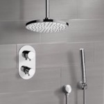 Shower Faucet, Remer SFH6405, Chrome Thermostatic Shower System with 8