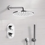 Shower Faucet, Remer SFH6409, Chrome Thermostatic Shower System with 12