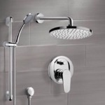 Shower Faucet, Remer SFR05, Chrome Shower System with 8