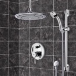 Shower Faucet, Remer SFR7003, Chrome Shower System with 9