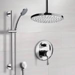 Shower Faucet, Remer SFR7014, Chrome Shower System with 8
