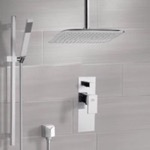 Shower Faucet, Remer SFR7018, Chrome Shower System with Ceiling 14
