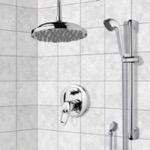Shower Faucet, Remer SFR7023, Chrome Shower System with 9