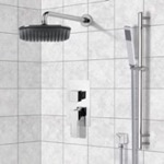 Shower Faucet, Remer SFR7035, Chrome Shower System with 8