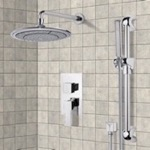 Shower Faucet, Remer SFR7038, Chrome Shower System with 9