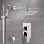 Shower Faucet, Remer SFR7057, Chrome Shower System with 14
