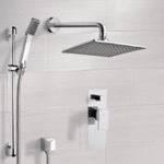 Shower Faucet, Remer SFR7111, Chrome Shower System with 8