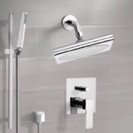 Shower Faucet, Remer SFR7195, Chrome Shower System with 9