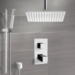 Shower Faucet, Remer SFR7401, Thermostatic Shower System with Ceiling 12