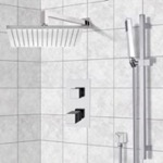 Shower Faucet, Remer SFR7403, Thermostatic Shower System with 12