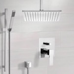 Shower Faucet, Remer SFR7505, Shower System with Ceiling 12