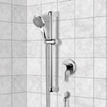Shower Faucet, Remer SR001, Chrome Slidebar Shower Set With Multi Function Hand Shower