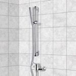 Shower Faucet, Remer SR006, Chrome Slidebar Shower Set With Hand Shower