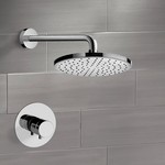 Shower Faucet, Remer SS08, Chrome Thermostatic Shower Faucet Set with 8