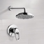 Shower Faucet, Remer SS1031, Chrome Shower Faucet Set with 9
