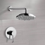 Shower Faucet, Remer SS1032, Chrome Shower Faucet Set with 9