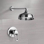 Shower Faucet, Remer SS1040, Shower Faucet Set with 8
