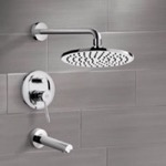 Tub and Shower Faucet, Remer TSF2151, Tub and Shower Faucet Sets with 8