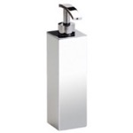 Soap Dispenser, Windisch 90122, Wall Mounted Tall Square Brass Soap Dispenser