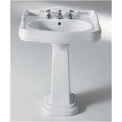 Bathroom Sink 42 Inch Classic-Style Ceramic Pedestal Bathroom Sink 564612 GSI 564612