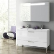 Bathroom Vanity 47 Inch Bathroom Vanity Set ACF ANS09