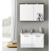 Bathroom Vanity 33 Inch Bathroom Vanity Set ACF NI02