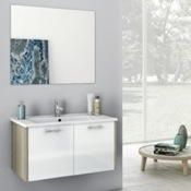 Bathroom Vanity 33 Inch Bathroom Vanity Set ACF NI03