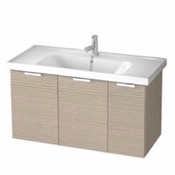 Bathroom Vanity 39 Inch Wall Mount Larch Canapa Vanity Cabinet With Fitted Sink LAM01 ARCOM LAM01